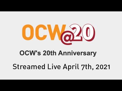 Celebrating 20 Years of MIT OCW Event