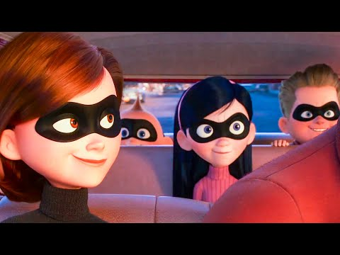 INCREDIBLES 2 All Movie Clips + Trailer (2018)