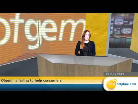 Ofgem 'is failing to help consumers'