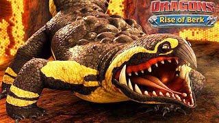 Rise of berk game nuôi rồng mobile 15: Rồng komando Bị mất cánh =))