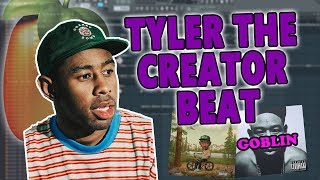 How To Make A HARD TYLER THE CREATOR Beat From Scratch - FL Studio