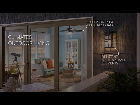 Kichler Climates Finishes Withstand the Elements