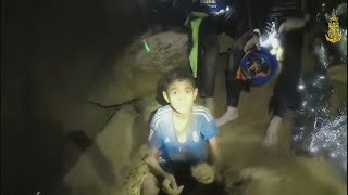 Four boys, soccer coach remain trapped in cave after 2nd day of rescues