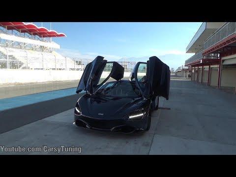 TrackDay McLaren en Autodromo de Codegua - A bordo de 720S