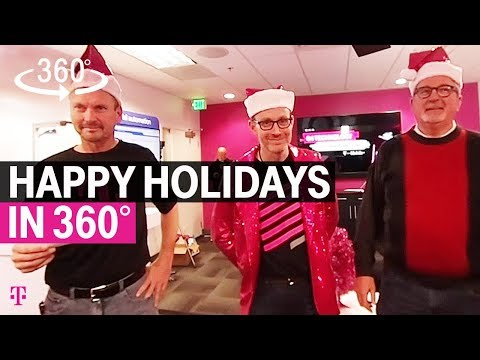 Happy Holidays in 360° from T-Mobile's Neville Ray & The Technology Team