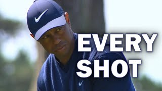 Tiger Woods Third Round at the 2020 PGA Championship | Every Shot