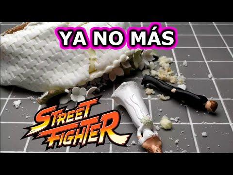 Abandono la colección de Street Fighter