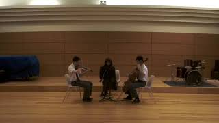 The 2019 Chamber Music Class String Trio Performs D.471 by Schubert