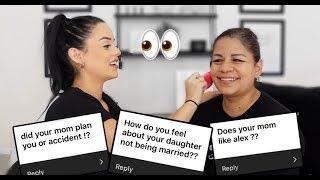 Q & A DOING MY MOMS MAKEUP