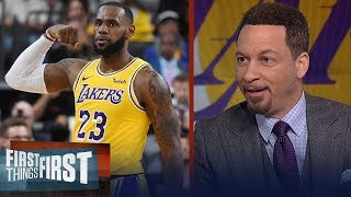 Chris Broussard 'isn't surprised' LeBron is playing at an MVP level  | NBA | FIRST THINGS FIRST