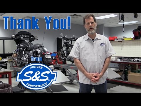 Thank you from S&S Cycle