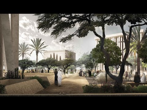 David Adjaye designs trio of temples for multifaith complex in Abu Dhabi