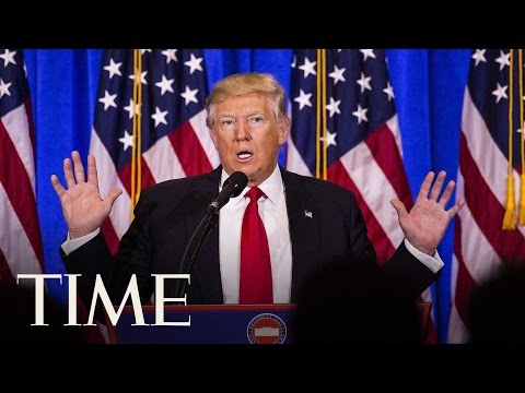 Donald Trump's First News Conference Since Presidential Election   TIME