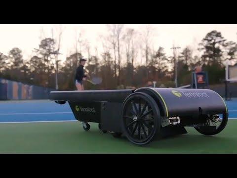 TenniBot autonomous tennis ball collector