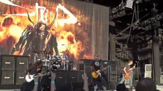 Staind - Spleen - Live @ UPROAR FESTIVAL KC 8/17/2012