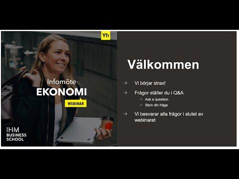 YH Infomöte - Ekonomi