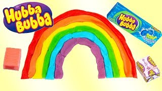 TRENDING!! HUBBA BUBBA -  DIY BUBBLE GUM ART - Crush Hubba Bubba Max!