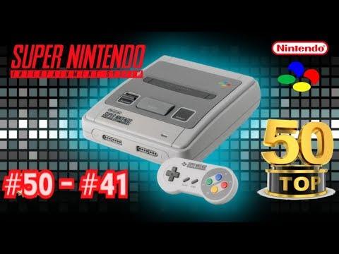 TOP 50 SNES #50 a #41 --- Los 50 Mejores Juegos de Super Nintendo (parte 1)