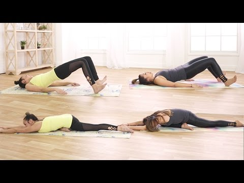 Quick Full Body Workout and Stretch | feat. Blogilates