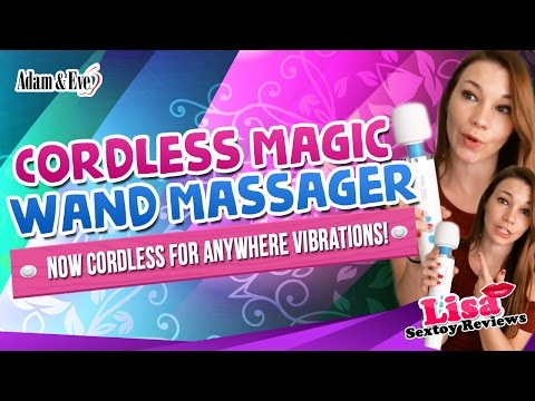 Magic Wand Rechargeable Massager Review - Cordless Vibrating Personal Massager