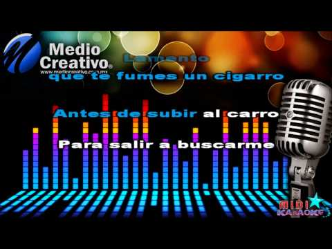 Hombre libre - La Adictiva (MIDI - Karaoke)