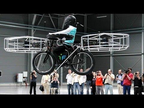 Latające rowery to już rzeczywistość!