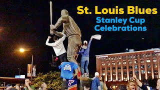 St Louis Blues Stanley Cup Game 7 Celebration