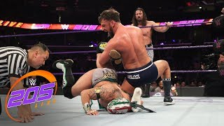 Lucha House Party vs. Drew Gulak, The Brian Kendrick & Jack Gallagher: WWE 205 Live, June 12, 2018