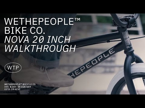 "Video WTP BMX NOVA 20 """" 2021 MAT BLACK"