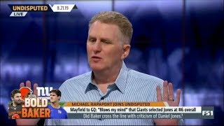 Undisputed | Michael Rapaport DEBATE: Did Baker cross the line with criticism of Daniel Jones?