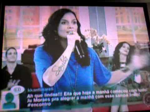 Baixar Ju Moraes No Encontro Com Fátima Bernardes