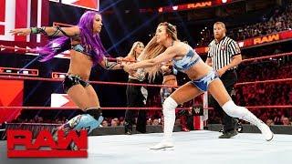 Sasha Banks, Bayley, Beth Phoenix & Natalya vs. Nia Jax, Tamina & The IIconics: Raw, April 1, 2019