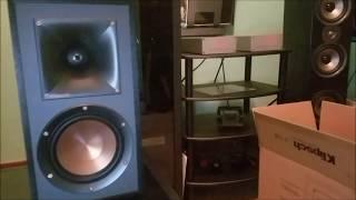 Klipsch Subwoofer R-12SW - unboxing plus bass test - Another