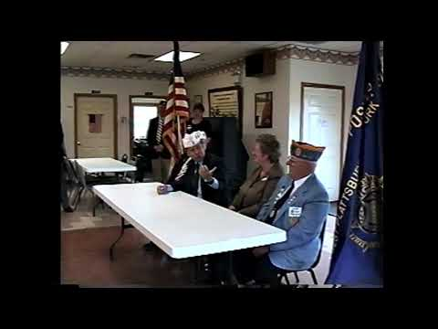 Post 1619 NYS Commander  10-21-02
