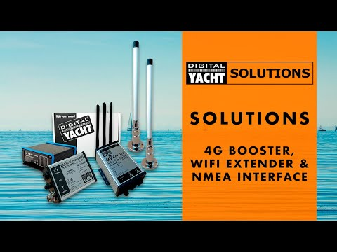 Digital Yacht Solutions - 4G Booster, WiFi Extender & NMEA Interface - Digital Yacht