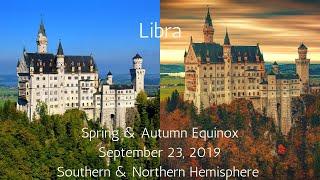 Libra, Spring & Autumn Equinox September 23, 2019 // Psychic Tarot Reading