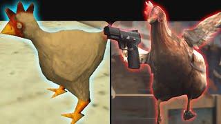 Evolution of Chicken in Counter Strike (1999-2018)