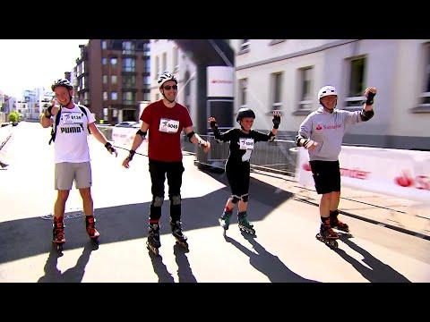 Gemeinsam zum Erfolg - Santander Inline-Halbmarathon