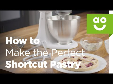 How to Make the Perfect Shortcrust Pastry with KitchenAid | Bake Tips | ao.com