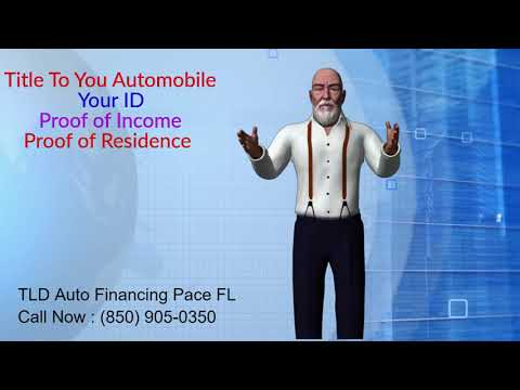TLD Auto Financing Pace FL | 850-905-0350