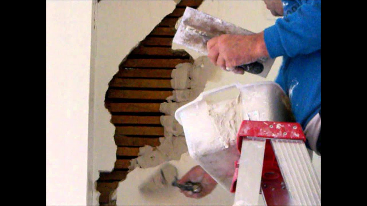 Plaster Repair Wall