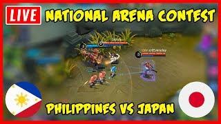 Live! Philippines vs Japan National Arena - Mobile Legends