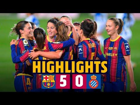 HIGHLIGHTS | Barça Women 5-0 Espanyol | Victory at CAMP NOU! 🏟️