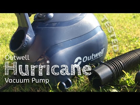 video Keeping your tent (or caravan) clean with the Outwell Hurricane Vacuum Pump