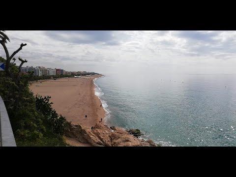 Viaje Calella - Arenys de Mar caminando
