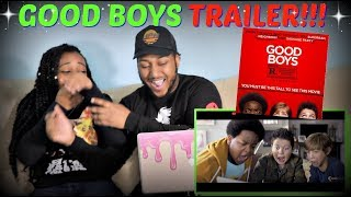 """""""GOOD BOYS"""" Red Band Trailer REACTION!!!"""
