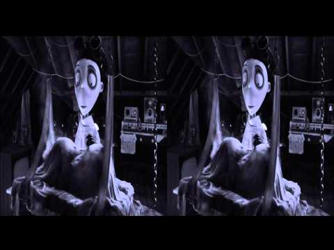 Frankenweenie 3d trailer in 3d
