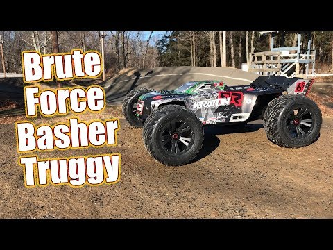 Big Power Monster Truggy Basher - ARRMA 2018 KRATON 6S BLX Brushless 4WD RTR  | RC Driver