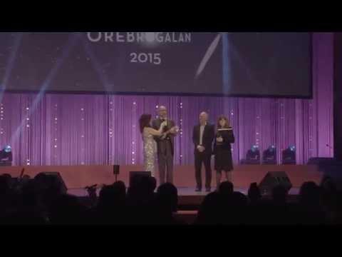 Örebrogalan 2015 - Kung Markatta tilldelas årets Miljöpris