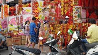 Trực Tiếp Đường Phố Sài Gòn Chiều 30 Tết Kẻ Khóc Người Cười